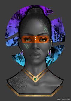 We Are Wakanda — wearewakanda: Featured artist: Ashley Straker. Black Girl Art, Black Women Art, Art Girl, African American Art, African Art, By Any Means Necessary, Black Art Pictures, Wow Art, Black Artists