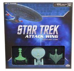 INTERCEPTOR 5 Star Trek Attack Wing Mint Complete STAW NEW