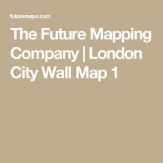 The Future Mapping Company | London City Wall Map 1