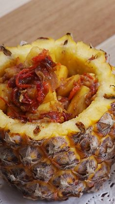 Add a bit of sweet spice to your life with this fiery pineapple chili relish. Pineapple Salad, Pineapple Recipes, Thai Recipes, Asian Recipes, Dinner Recipes, Sambal Recipe, Sauces, Sweet Spice, Inexpensive Meals