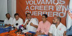 Walton inicia campaña con un llamado de paz para Guerrero