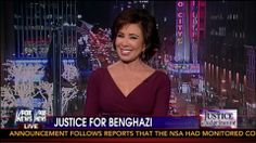 """Judge Jeanine Blasts Hillary Clinton on Benghazi: """"YOU KNEW!"""" - Opening ... JAN 18 2014... IT'S A GOOD TIME TO BE REMINDED OF THE ACTIONS AND THE PART THAT HILARY CLINTON PLAYED AND HER DESPICABLE RESPONSE TO THE DEATHS OF FOUR BRAVE AMERICANS IN BENGHAZI!"""