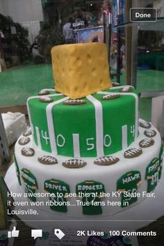 76 Best Football Cakes Images Cake Cupcake Cakes Cake