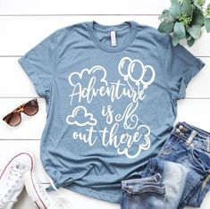Womens disney shirts - Disney Up Adventure Is Out There Unisex Shirt Disney World Outfits, Disneyland Outfits, Disney World Shirts, Disneyland Shirts, Disneyland Ideas, Disney Worlds, Disneyland Trip, Disney Vacations, Vacation Spots