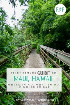 Looking for things to do during your trip to Maui? Look no further! Check out our First Timers Guide Maui to start planning your trip today. Trip To Maui, Hawaii Vacation, Maui Hawaii, Vacation Spots, Maui Travel, Travel Tips, Red Sand Beach, Road To Hana, Twin Falls
