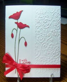 With Love Poppies - Memory Box Die
