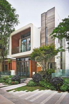 20 außen Bilder von A moderne Haus Entwicklung In China von John Friedman Alice Kimm Architekten