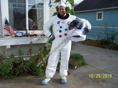 Homemade Apollo Astronaut Costume