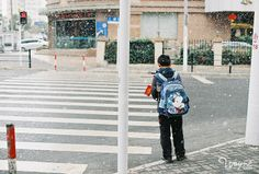2014.02.10 上海 雪 (nikon FM2+50/1.2 FUJICOLOR C200)...