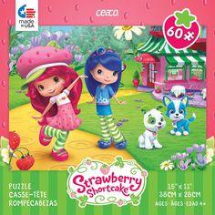 Ceaco Strawberry Shortcake Jigsaw Puzzle - 60-Piece