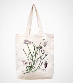 handmade bag/canvas bag/ipad bag/macbook bag/tote bag/canvas tote bag/shopping bag/women bag--flower