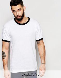 Imagen 1 de Camiseta Ringer de Reclaimed Vintage