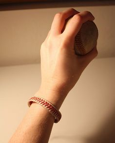 Cool DIY Projects For Teens  | How To Make  A Baseball Bracelet By DIY Ready. |http://diyready.com/diy-projects-for-teenagers-cool-crafts-for-teens/