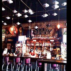 The Jinx, live music bar in Savannah, GA - formerly the velvet elvis.