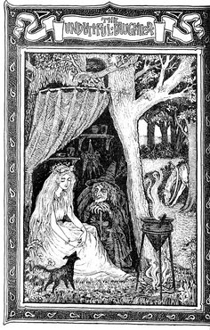'Old English fairy tales' collected by S. Baring Gould; illustrated by F. D. Bedford. Published 1895 by Methuen & Co, London.