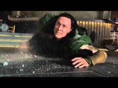 """Hulk beats Loki """"Puny God"""" Funniest Moment From The Avengers (2012) I will never get tired of watching this!"""
