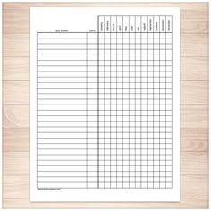 Blank Medication Administration Record Template  Susan