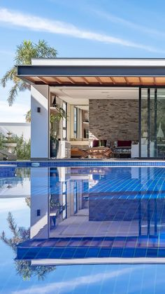Modern Pool House, Modern Pools, Shed Design, Roof Design, City View Apartment, Pool House Designs, Yard Sheds, Pool Landscape Design, Small Pool Design