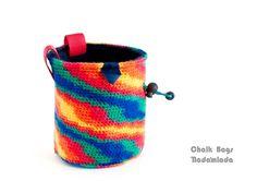 climbing purse, rock climbing gifts, trad climbing bag <3 #rockclimbing #climb #bouldering #chalkbag #tradclimbing