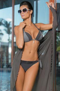 Marko Amber M-260 Two Piece Grey Bikini #swimwear | | OtherEden.co.uk