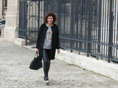 Veste Chloé en astrakan - La Maison Victor