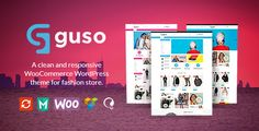 VG Guso - Fashion WooCommerce WordPress Theme . VG has features such as High Resolution: Yes, Widget Ready: Yes, Compatible Browsers: IE9, IE10, IE11, Firefox, Safari, Opera, Chrome, Compatible With: WPML, WooCommerce 2.6.x, WooCommerce 2.5, Visual Composer 4.12.x, Visual Composer 4.11.2.1, Visual Composer 4.11.x, Bootstrap 3.x, Framework: Underscores, Software Version: WordPress 4.7.x, WordPress 4.6.1, WordPress 4.6, WordPress 4.5.x, WordPress 4.5, Columns: 4+