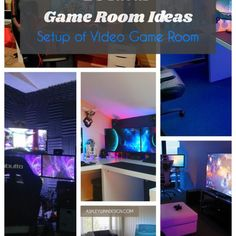 Best Game Room Ideas [Game Room Setup For Adults & Kids] Game Room Ideas . Best Game Room Ideas [Game Room Setup For Adults & Kids] Game Room Ideas – Game rooms are g Game Room Design, Family Room Design, Game Room Decor, Room Setup, Computer Gaming Room, Basement Bar Designs, Basement Bars, Kitchen Designs, Video Game Rooms