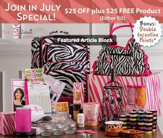 Pink Zebra! $25 off either kit! Hurry, offer expires July 29th! WwwWww.pinkzebrahome.com/seventhheavensprinkles