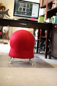 Elegant Exercise Ball Chair | Chairs | Pinterest | Ball Chair, Exercise Ball And  Exercises