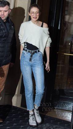 Gigi Hadid is ready for Paris Fashion Week!