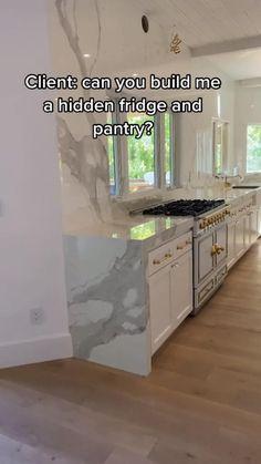 Room Design Bedroom, Home Room Design, Dream Home Design, Home Interior Design, Modern Kitchen Design, Modern House Design, Kitchen Organization, Kitchen Storage, Pantry Design