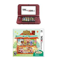 New Nintendo 3DS XL Red with Animal Crossing: Happy Home Designer   http://ibestgadgets.com/product/new-nintendo-3ds-xl-red-with-animal-crossing-happy-home-designer/   #gadgets #electronics #digital #mobile