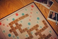 scrabble proposal ~ story & short film. This is too cute! | CHECK OUT MORE IDEAS AT WEDDINGPINS.NET | #weddings #engagement #engaged #thequestion #events #forweddings