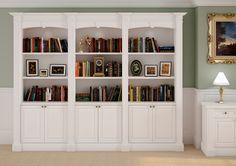 Kensington Bookcase from David James Furniture - http://www.periodideas.com/kensington-bookcase-david-james-furniture