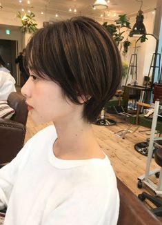 Pin on 髪型 Girl Short Hair, Short Curly Hair, Short Hair Cuts, Curly Hair Styles, Japanese Short Hair, Korean Short Hair, Hair Inspo, Hair Inspiration, Androgynous Haircut