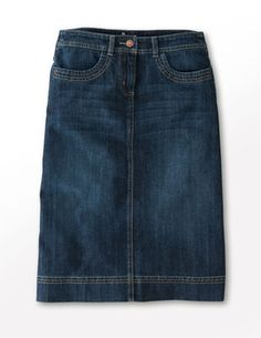 Pencil jeans skirt. | moda | Pinterest | Jean skirt, Clothes and ...