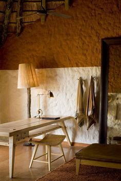 Motse bedroom dressing area by IDEE_PER_VIAGGIARE, via Flickr