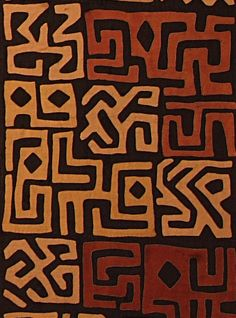 Tribal Patterns African Art from Bambuti & Kuba (Congo) 2005