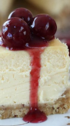 White Chocolate Cheesecake on Pinterest | Raspberry Cheesecake ...