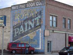 F.C. Rowan Paint & Glass, Ely, NV