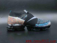 1821240324e06 Nike Air VaporMax Flyknit MOC Rainbow Nike Air Shoes