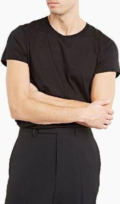 Acne Studios Acne Standard O Crew Neck T-Shirt The Acne Studios Cotton Standard-O T-Shirt for AW15