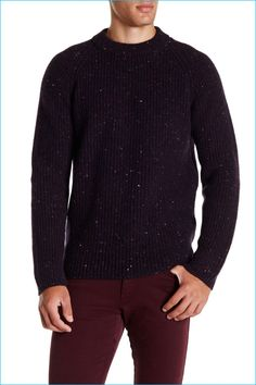 Zachary Prell Baker Street Cashmere Wool Sweater