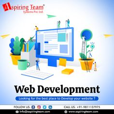 Skenix Infotech is most prominent, trusted and one of the best Web Development Company in India with certified and experienced employees. Get the best Web and Mobile Application development services in affordable price for your digital business. Website Design, Blog Design, Website Web, Mobile Application Development, Software Development, Website Development Company, Inside Design, Design System, Design Language