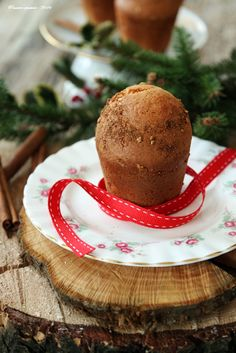 Muffins natalizi, alla vaniglia e spezie, ricetta senza lattosio