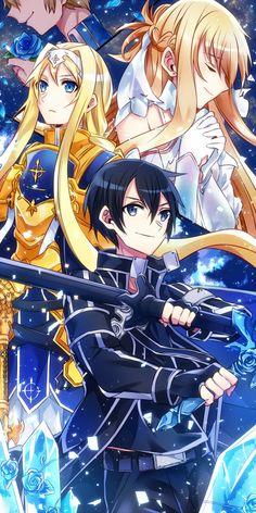 Sao Anime, Sword Art Online Wallpaper, Kirito Asuna, Sword Art Online Kirito, Accel World, Anime Kunst, Sao Ggo, Anime Artwork, Anime Comics