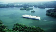 Lake Gatun- Panama Canal.
