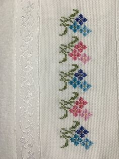 Simple Cross Stitch, Cross Stitch Rose, Cross Stitch Embroidery, Cross Patterns,… - DIY and Crafts Cross Stitch Boarders, Butterfly Cross Stitch, Cross Stitch Pillow, Cross Stitch Bookmarks, Simple Cross Stitch, Cross Stitch Rose, Cross Stitch Flowers, Cross Stitch Designs, Hand Embroidery Projects