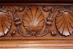 Exceptional renaissance style figural cabinet in walnut - Cabinets - Houtroos