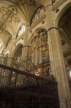 Spain. Salamanca New Cathedral, XVI-XVIII century
